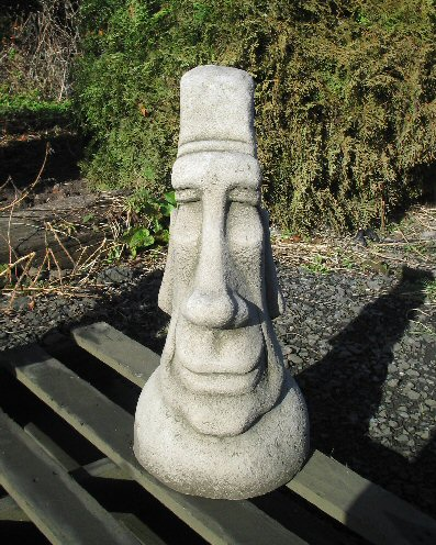 KAEI1 Furrowed Brow Easter Island Head