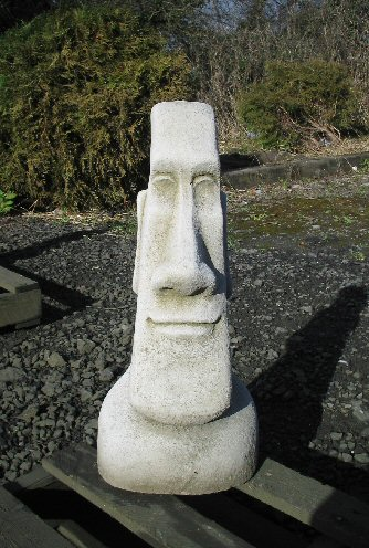 KAEI3 Plain Male Easter Island Head